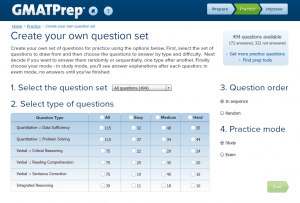 GMATPrep Question Pack 1